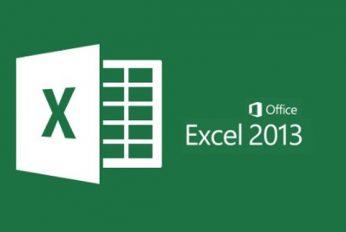 ניהול נתונים מהיר ב Excel 2013
